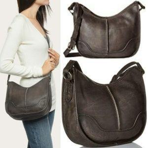 FRYE Cara Saddle Leather Crossbody Bag